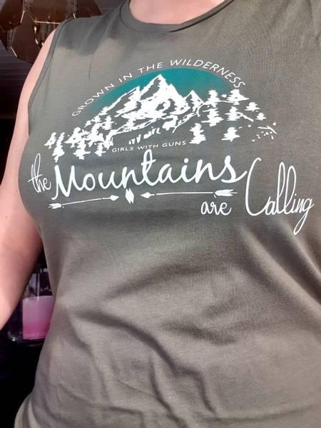Bilde av Mountains are calling Singlet